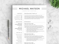 Resume/CV - The Watson