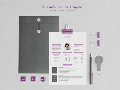 Resume Template 4 pages | Soeprapto