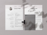 Resume Template • Francis
