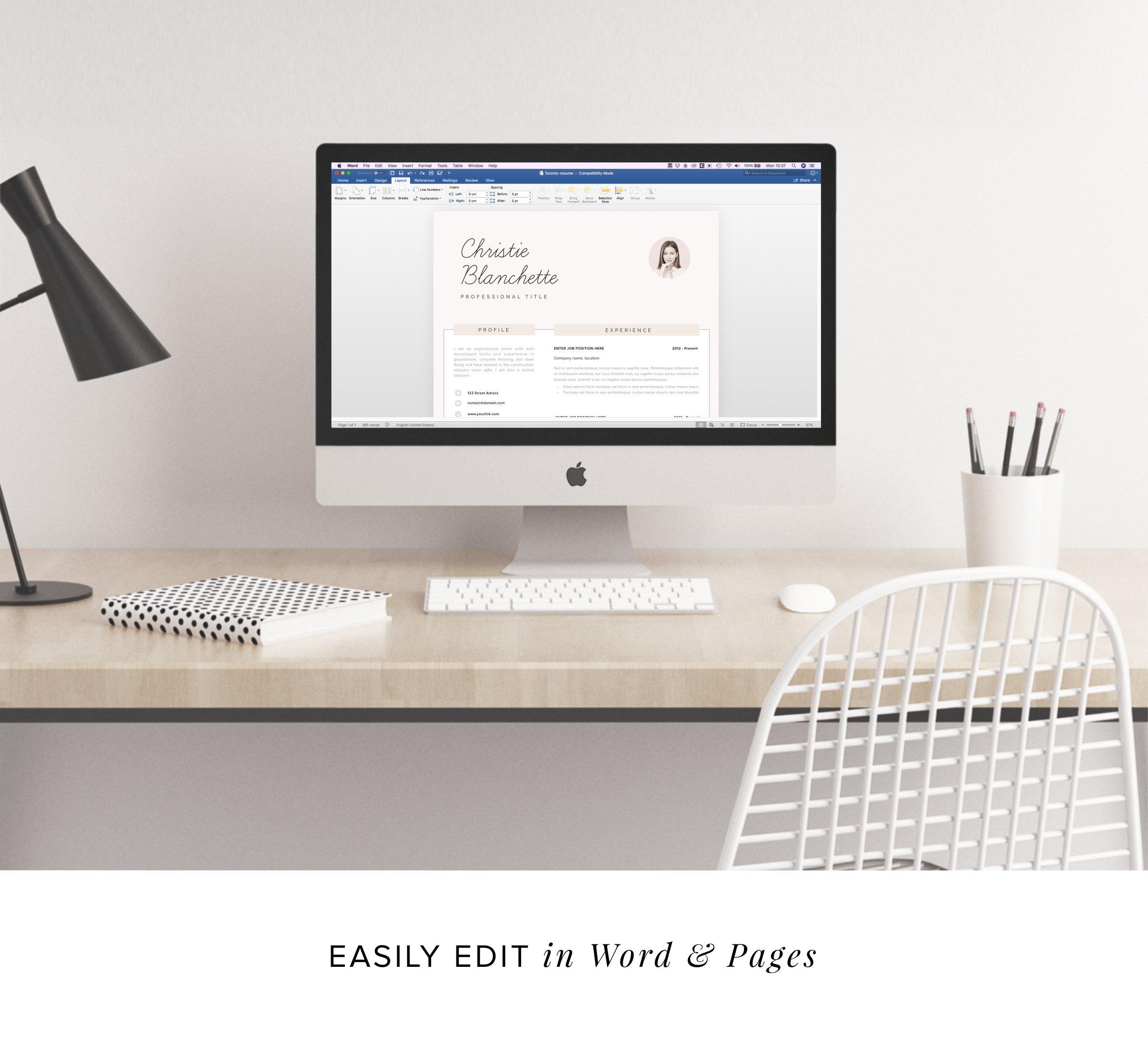 Resume template cv template 3