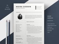 Resume Template | Moira
