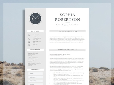 Creative Resume Template | Chancery
