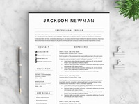 Resume/CV - The Jackson