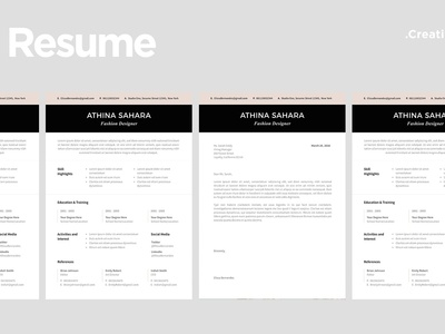 Clean Resume Template - 06