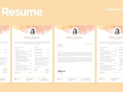 Creative Resume Template - 01