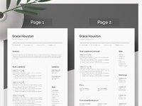 Grace resume 2 page