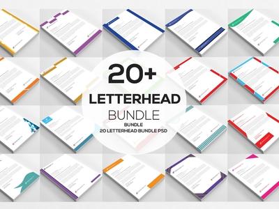 20+ MS Word Letterhead Templates