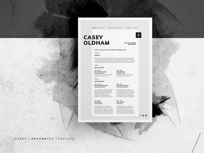 Resume/CV - Casey