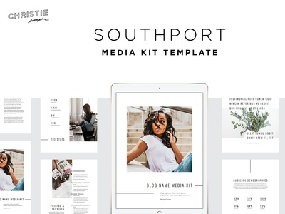 Southport Media Kit Template
