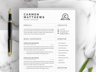 CleanProfessional Resume/CV Template