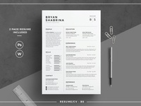 Resume/CV - BS