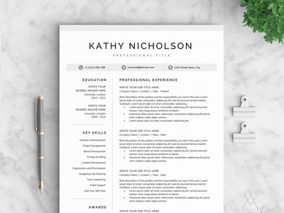 Resume/CV - The Kathy