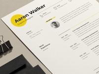 Minimal Resume