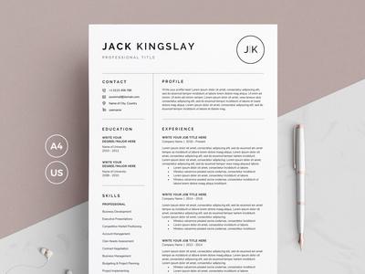 Resume/CV - JK