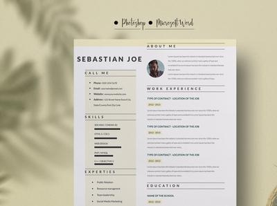 Resume Template / CV Resume Template