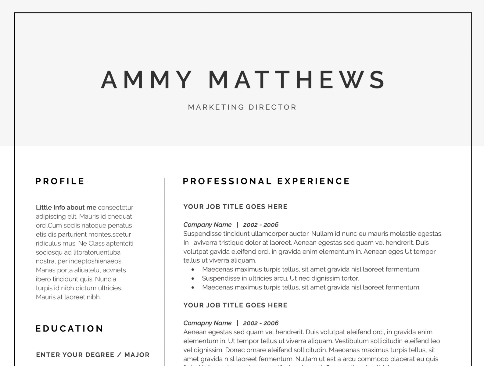 Cover Letter Template Free Word from cdn.dribbble.com