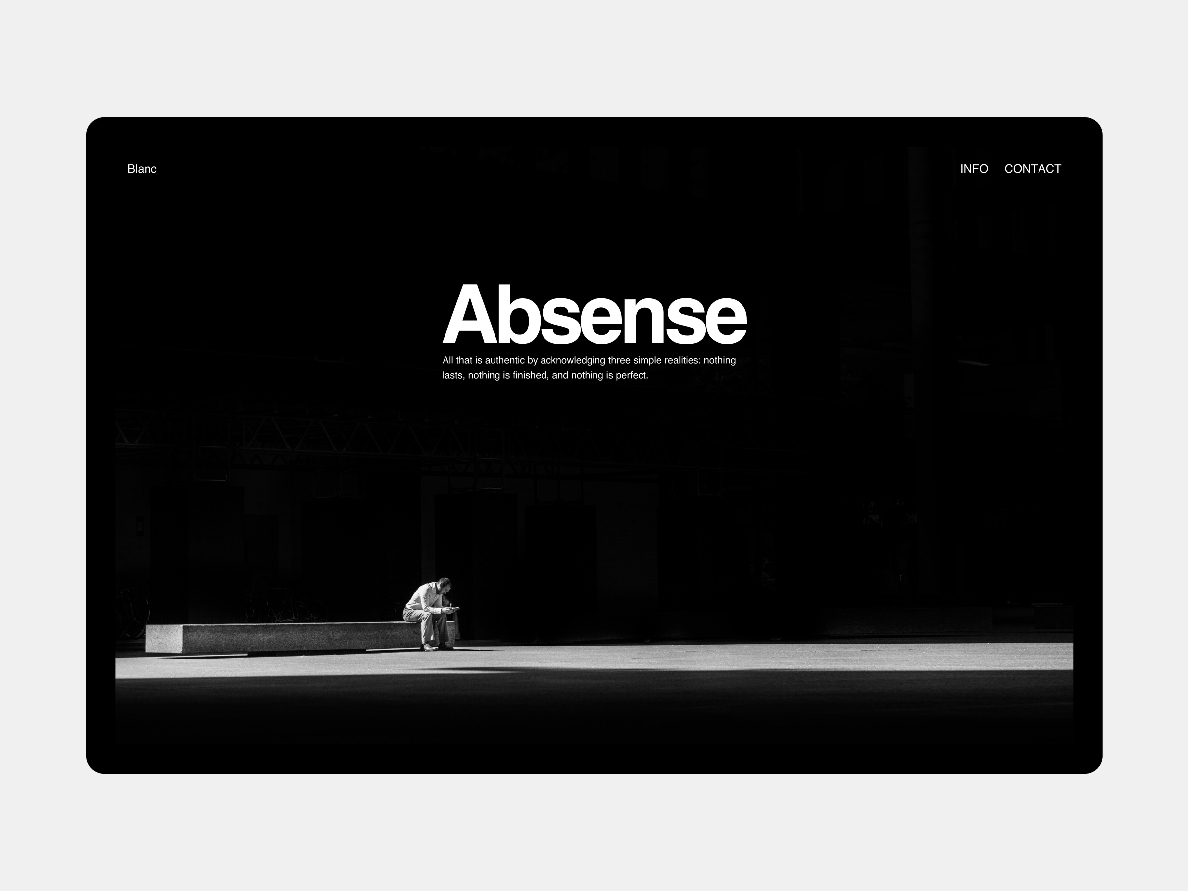 Absense By Himanshu On Dribbble The (local) nonexistence of something. dribbble