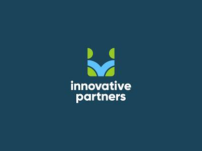 innovative partners identity designer logo process innovation fox logo logo design icon illustration playfull logocore identity branding dailylogochallange identity design brand design branding logo