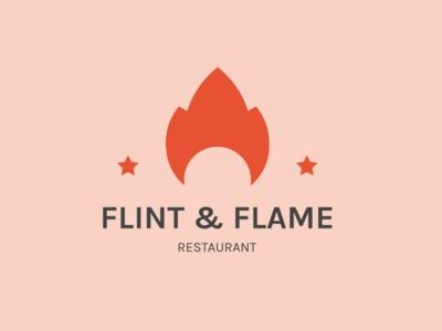 Flint & flame logo