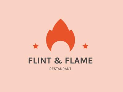 Flint & flame logo flames playfull logo flame logo flame