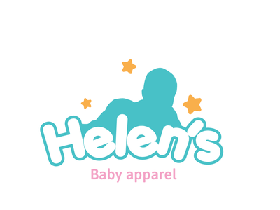 Helen's baby apparel brand fashion logo baby clothes baby