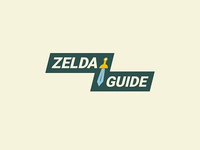 ZeldaGuide thirtylogos thirtylogoschallenge logocore logo design branding dailylogochallange