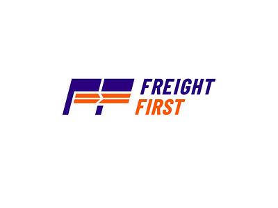 Freight First logocore logodesign thirtylogoschallenge monogram typography thirtylogos branding design logo