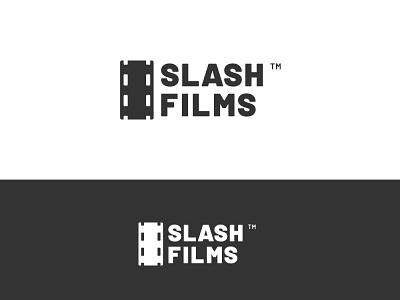 Slash Films illustrator slash films identity design brand logocore branding design logo thirtylogoschallenge thirtylogos dailylogochallange