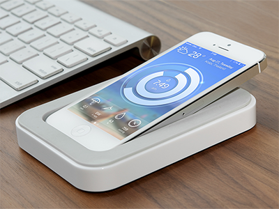 RClock — iPhone Interface iphone interface clock weather dock screensaver ui wallpaper