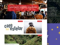 Cafe estelar website