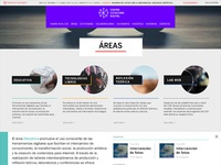 Projects/teams list page for Centro de Cultura Digital