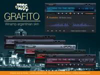 Winamp skin - cPro2 Grafito