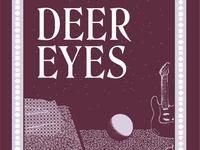 Deer Eyes Poster