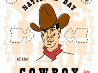 Illustration: National Day of the Cowboy
