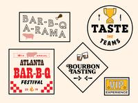 Atlanta Bar-B-Q Festival - Branding
