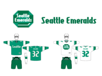Seattle Emeralds Uniforms