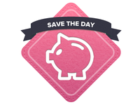 Save the Day badge