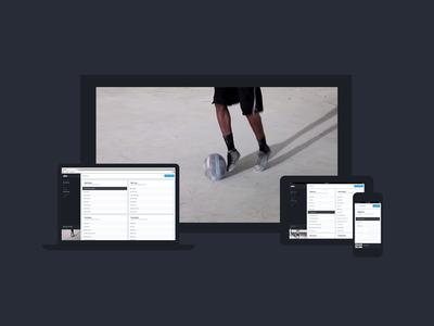 ZOVA Devices responsive ui sport web app flat devices macbook ipad iphone