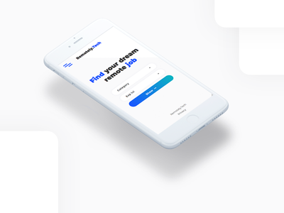 Remotely.Tech ui ux webdesig design branding