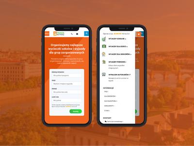 Pikada - travel agency. ui pack ux webdesign travel mobile clean website design