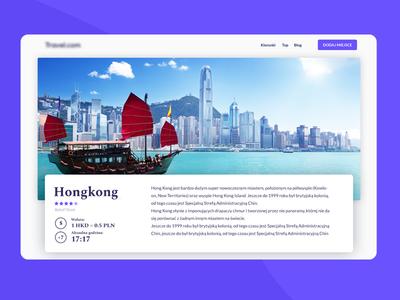 Travel portal design clean uidesign ui uxdesign uxui ux  ui web design webdesign website web travel app travel