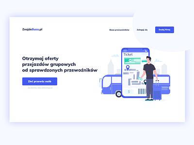 Startup Transport Design ux ui webdesig website web minimal clean design transport