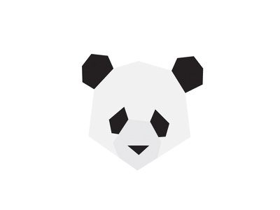 Panda Logo logo a day icon branding illustration designer designchallenge dailylogochallenge dailylogo dailylogodesign logo logodesigner logodesign graphic designer graphicdesign design graphic design