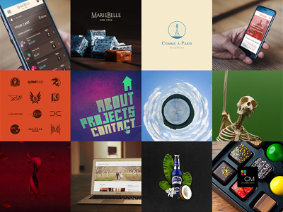 New Portfolio portfolio projects graphic design web design art direction photography logos montreal