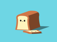 Brad, the white bread