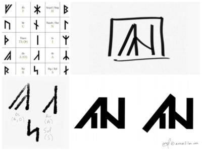 Rune Inspired Logomark