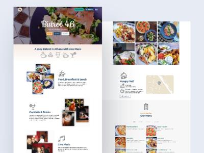 Bistrot 46 • Café Restaurant Website