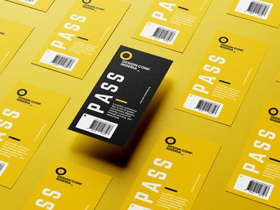 Design Conference Pass tag pass nigeria artlogo design logo branding
