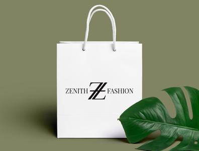 Zenith Fashion brand identity artlogo logo branding