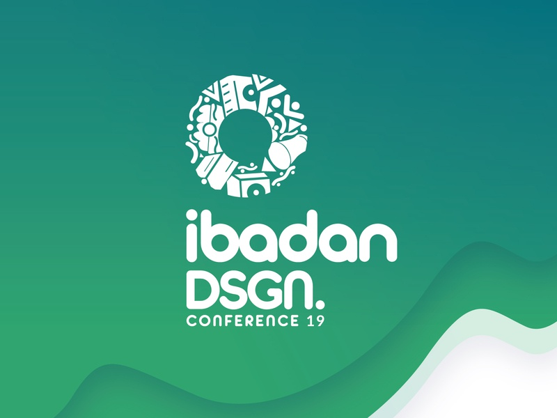 Ibadan Design Conference icon branding logo